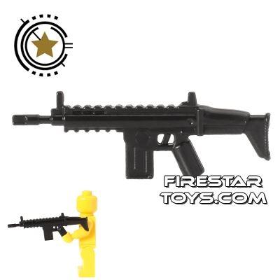 CombatBrick - Special Forces Assault Rifle - Black