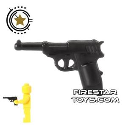CombatBrick - WWII German Walther P38 Pistol - Black