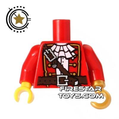 LEGO Mini Figure Torso - Pirate Captain