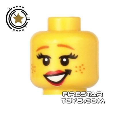 LEGO Mini Figure Heads - Cowgirl