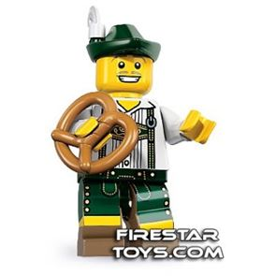LEGO Minifigures - Lederhosen Guy