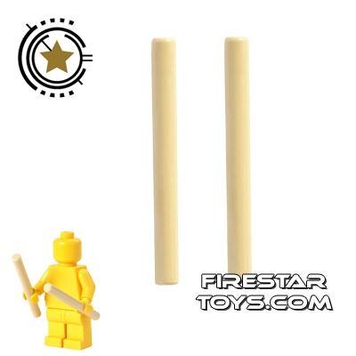 LEGO - Drumsticks Pair - Tan