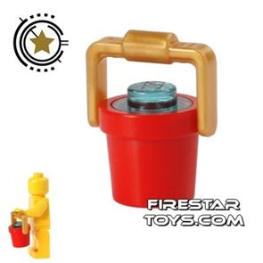 LEGO - Bucket of Water - Red