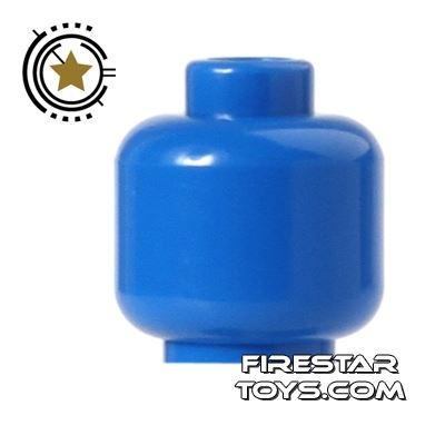 LEGO Mini Figure Heads - Plain Blue
