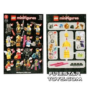 LEGO - Minifigures Series 8 Collectable Leaflet