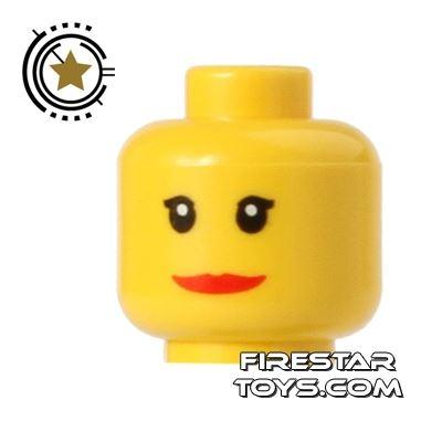 LEGO Mini Figure Heads - Wide Smile