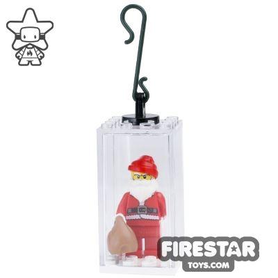 Custom Christmas Tree Decoration Display - Santa with Sack