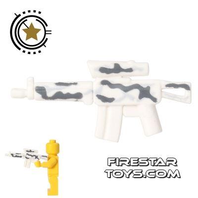 BrickForge - Tactical Assault Rifle - White Camo