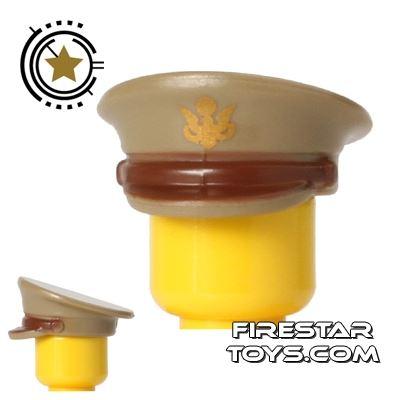 BrickForge - Officer Hat - US Army - Tan