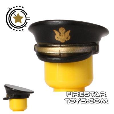 BrickForge - Officer Hat - US Army - Black