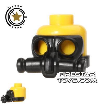 SI-DAN - Gas Mask CA2 - Black