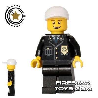 LEGO City Mini Figure - Police - City Suit Blue Tie
