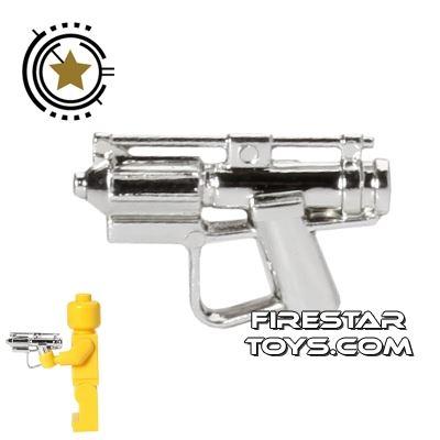 Clone Army Customs - E-5 Droid Blaster - Chrome Silver
