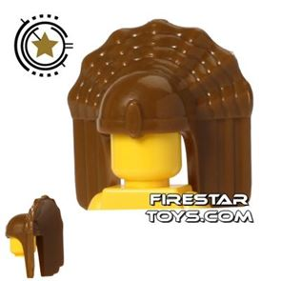 BrickTW - Nanman Priest Headdress - Dark Tan