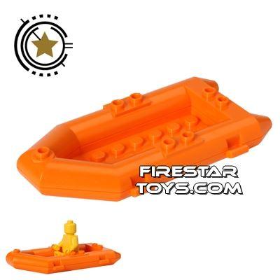 LEGO - Raft Boat - Orange