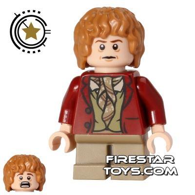 LEGO The Hobbit Mini Figure - Bilbo Baggins - Dark Red Coat