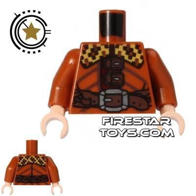 LEGO Mini Figure Torso - Bifur Jacket with Buckles