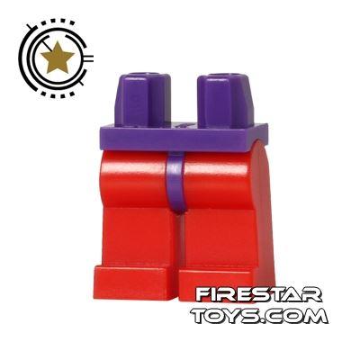 LEGO Minifigure Legs - Hips PURPLE - Legs