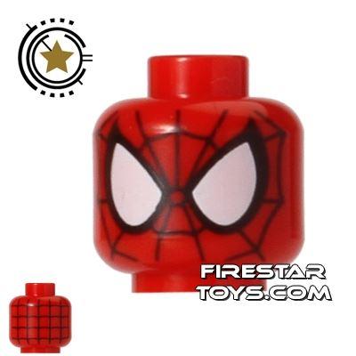 LEGO Mini Figure Heads - Spider Man