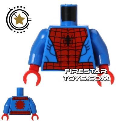 LEGO Mini Figure Torso - SpiderMan Suit
