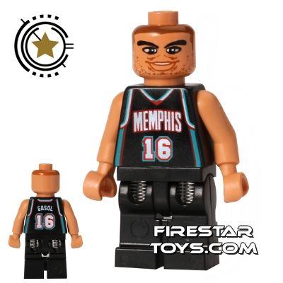 LEGO Basketball Player - Memphis Grizzlies 16