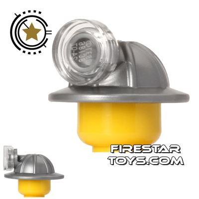 LEGO Mining Helmet and Head Lamp