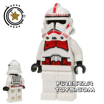 LEGO Star Wars Mini Figure - Shock Trooper - White Hips