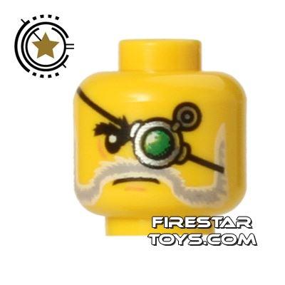 LEGO Mini Figure Heads - Mechanical Eyepatch