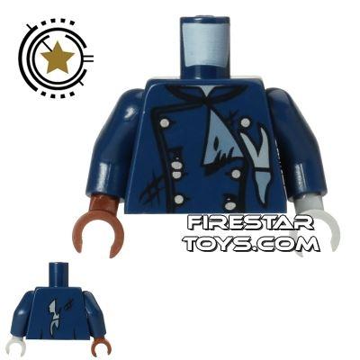 LEGO Mini Figure Torso - Zombie Driver Jacket