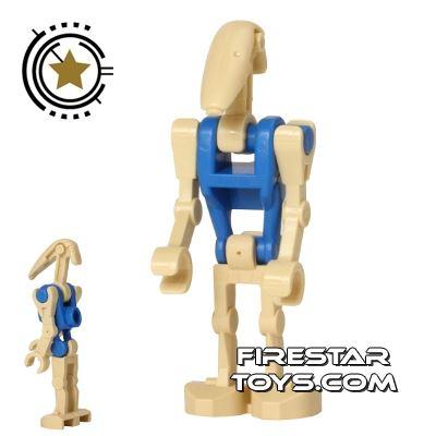 LEGO Star Wars Mini Figure - Battle Droid Pilot - Blue