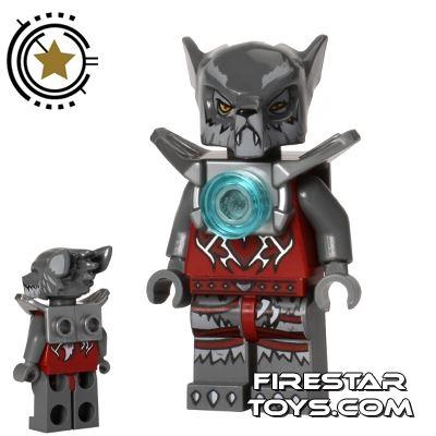 LEGO Legends of Chima Mini Figure - Wakz - Shoulder Armour