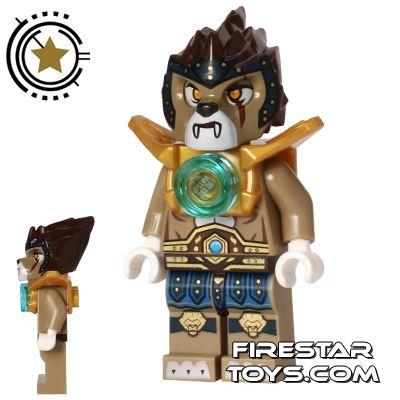 LEGO Legends of Chima Mini Figure - Longtooth - Shoulder Armour
