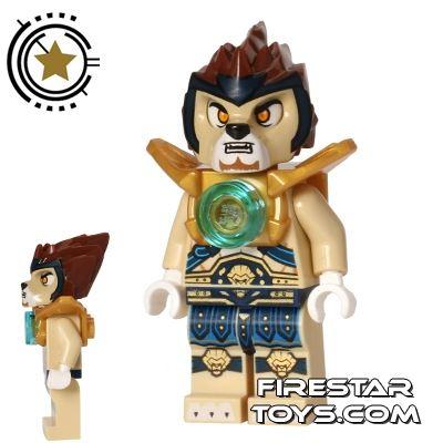 LEGO Legends of Chima Mini Figure - Lennox - Pearl Gold Shoulder Armour
