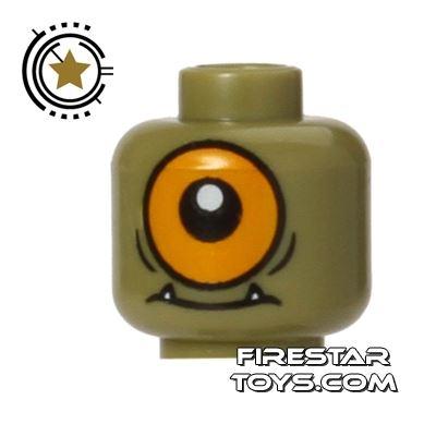 LEGO Mini Figure Heads - Cyclops