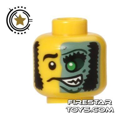LEGO Mini Figure Heads - Good and Evil