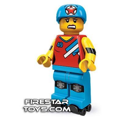 LEGO Minifigures - Roller Derby Girl