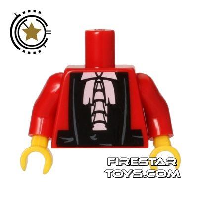 LEGO Mini Figure Torso - Judges Robes