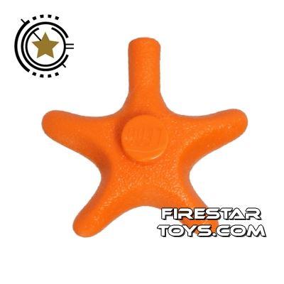 LEGO Animals Mini Figure - Starfish - Orange
