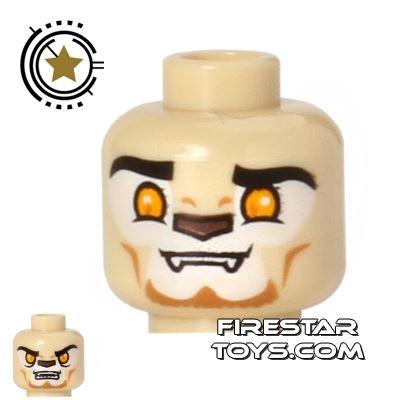 LEGO Mini Figure Heads - Lion - Lennox