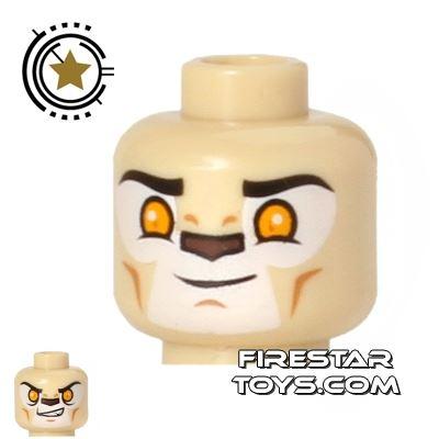 LEGO Mini Figure Heads - Lion - Laval