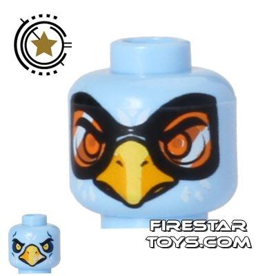 LEGO Mini Figure Heads - Eagle - Equila