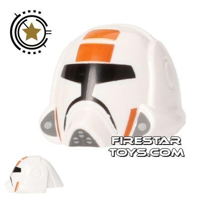 LEGO Republic Trooper Helmet Orange Markings
