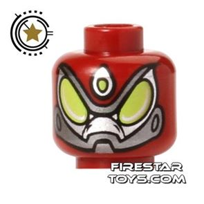 LEGO Mini Figure Heads - Spider Man - Beetle