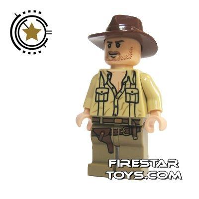 LEGO Indiana Jones Mini Figure - Indiana Jones Open Shirt
