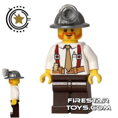 LEGO City Mini Figure - Miner Chief