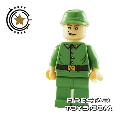LEGO Indiana Jones Mini Figure - Russian Guard 1