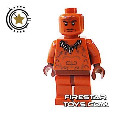 LEGO Indiana Jones Mini Figure - Ugha Warrior 2