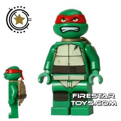 LEGO Teenage Mutant Ninja Turtles Mini Figure - Raphael - Bared Teeth