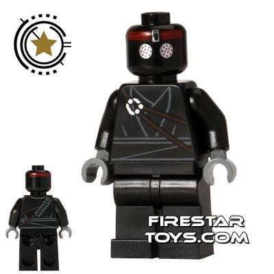LEGO Teenage Mutant Ninja Turtles Mini Figure - Foot Soldier - Black Outfit