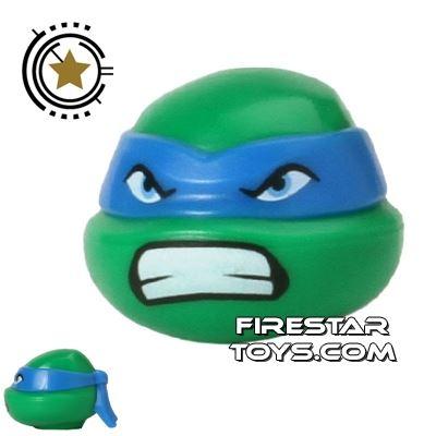 LEGO Mini Figure Heads - Teenage Mutant Ninja Turtles - Leonardo Bared Teeth